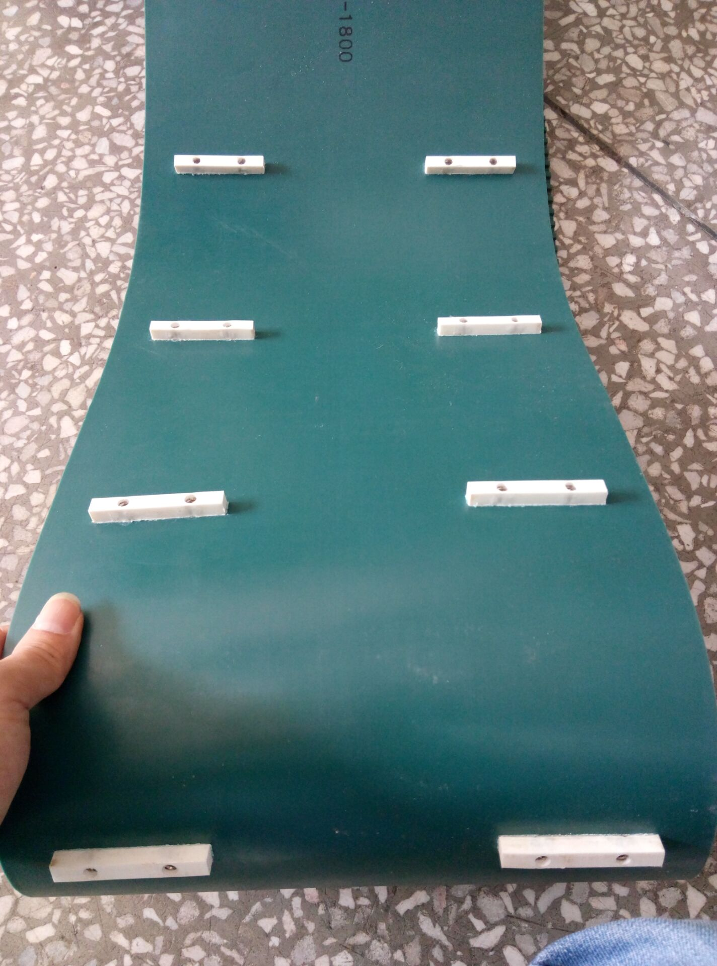 绿色PU齿型带 加工件