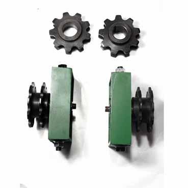 汇利兴组装线配件张紧座-9齿孔38.1倍速链轮
