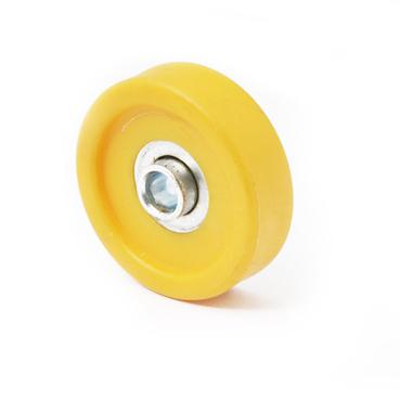 流水线配件塑胶来福轮直径48mm颜色多款可选