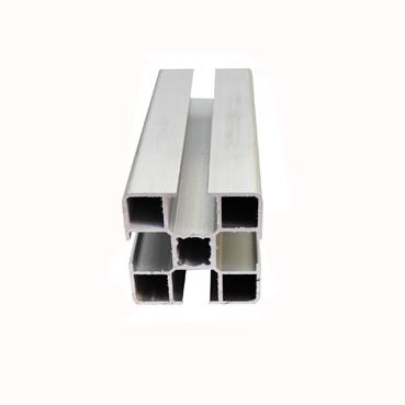 支架铝型材4040  HLX-23铝材40*40-流水线支架铝材