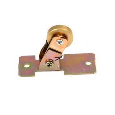 组装线材料导电槽集电子【A-02B】带铜片导电轮