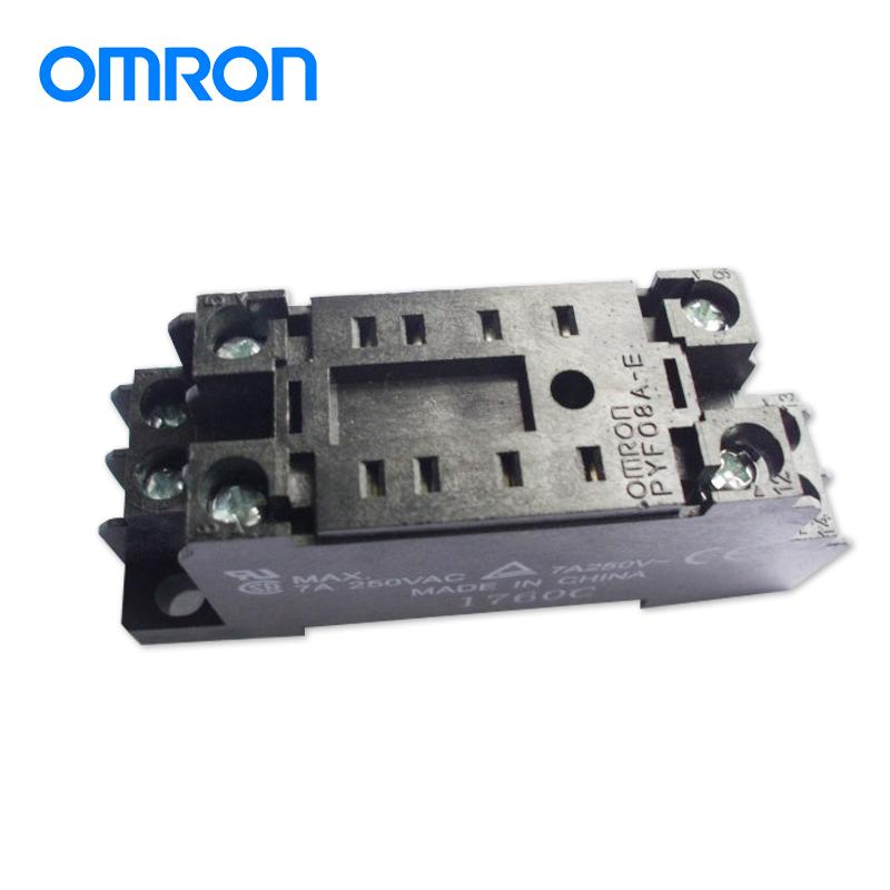 欧姆龙继电器底座PYF08A-E