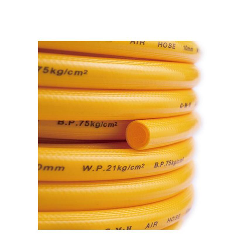 压缩空气专用PVC黄色压力管