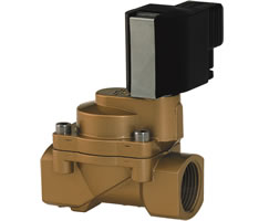 Indirect Solenoid Actuated Piston Valve