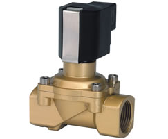 Solenoid Actuated Diaphragm Valve With Forced Lifting