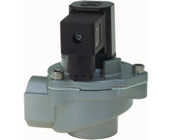 Solenoid Actuated Diaphragm Valve for Dust Filter Systems