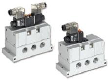 五口電磁閥 - ISO 4系列