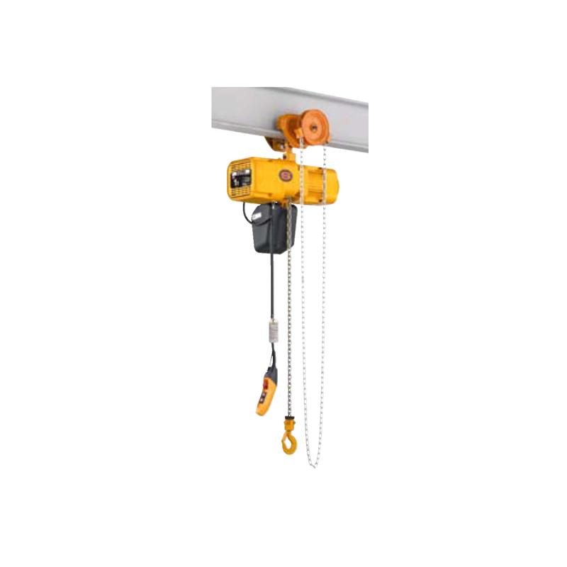 ER2双速手拉链小车式电动葫芦