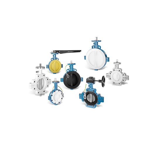 GAR-SEAL® 蝶阀用于控制、节流和切断任务