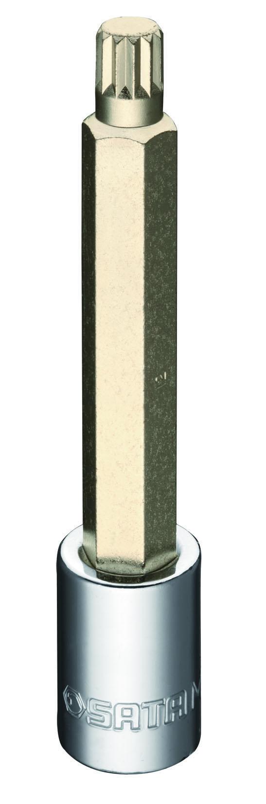 12.5MM系列140MM长12角旋具套筒M12