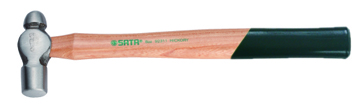 木柄圆头锤0.5磅
