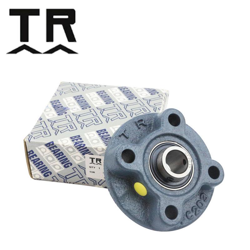 TR带座轴承 带凸台圆形座外球面球轴承  UCFC201